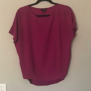 Fushia top from The Limited